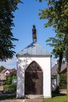 Leipalingio Švč. Mergelės Marijos Ėmimo į dangų bažnyčia · šventoriaus koplytėlė 4243