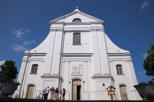 Veisiejų Šv. Jurgio bažnyčia 2018 · vasara