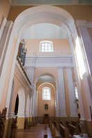 Veisiejų Šv. Jurgio bažnyčia · interjeras 4298