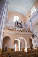 Veisiejų Šv. Jurgio bažnyčia · interjeras 4304