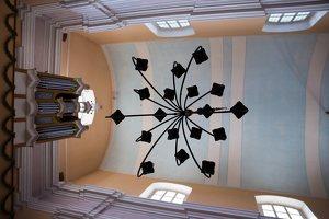 Veisiejų Šv. Jurgio bažnyčia · interjeras 4307