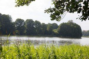Veisiejų dvaro parkas · ežeras Ančia 4373