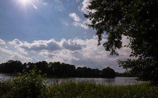 Veisiejų dvaro parkas · ežeras Ančia 4381