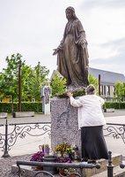 Šiluvos aikštė · Švč. Mergelės Marijos skulptūra 0870