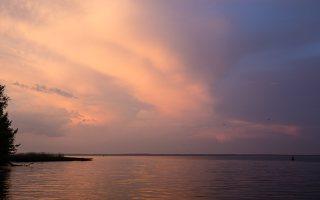 saulėlydis, marios 1285