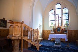 Juodkrantės evangelikų liuteronų bažnyčia 4877