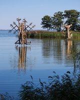 Gintaro įlanka · nendrinės skulptūros 4929