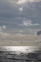 jūra, bangos, debesys 5241