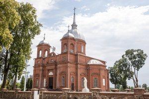 Utena · Kristaus Žengimo į dangų bažnyčia