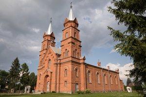 Dusetos · Švč. Trejybės bažnyčia